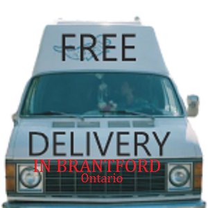 Free Delivery in Brantford, ON