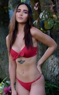 GIRL IN RED BIKINI